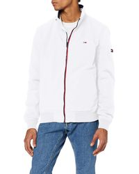 Tommy Hilfiger TJM Essential Bomber Jacket Jacke - Weiß