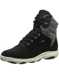 Geox D NEBULA 4 X 4 B ABX A Chukka Boots - Schwarz