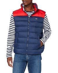 Tommy Hilfiger Tjm Colorblock Vest Giacca - Blu