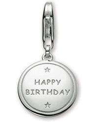 Esprit Happy Birthday 4428161 Charm 925 Sterling Silver - Metallic