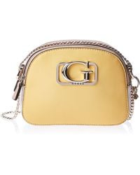 Guess Annarita Convertible Crossbody Yellow Multi - Gelb