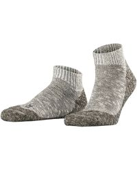 Falke Lodge Homepad M Sn Slipper Sock - Grey