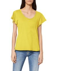 Desigual TS_Madrid Camiseta - Amarillo