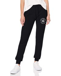 Superdry Track & Field Jogger Sports Trousers - Black