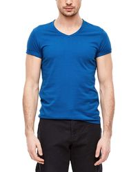S.oliver 13.002.32.5354 T-Shirt - Blau