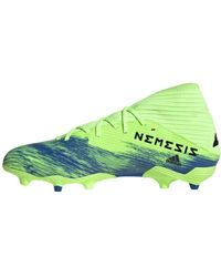 adidas Nemeziz 19.3 Fg J Baskets pour homme - Vert