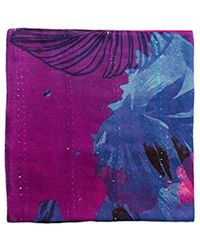 Desigual - Foulard_corel Rectangle Scarf, Red (purple Potion 3070), One (size: U) - Lyst