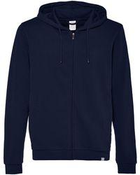 CARE OF by PUMA Long Sleeve Zip Through Hoodie - Blue