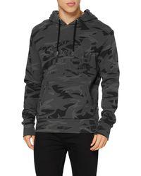 Superdry S VL AOP Hood Sweater - Grau