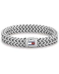 Tommy Hilfiger Acier n'est Pas Applicable Bracelets à maillons et chaînes - Métallisé