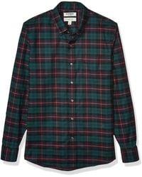 Goodthreads Slim-fit Long-Sleeve Stretch Oxford Shirt - Azul