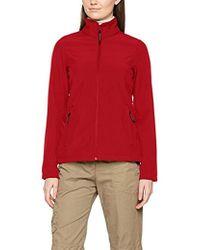 Regatta - Ladies Print Perfect Softshell Long Sleeve Jacket - Lyst
