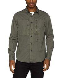 G-Star RAW - Powel Shirt L/S Camisa para Hombre - Lyst