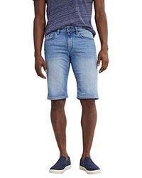 Esprit Pantalones Cortos para Hombre - Azul