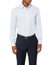 Tommy Hilfiger Core Poplin Classic Shirt Camisa - Azul