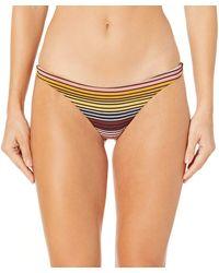 Billabong Sun Fall Tanga Bikini Bottom - Multicolor
