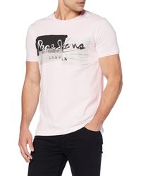 Pepe Jeans Stepney T-shirt - Pink