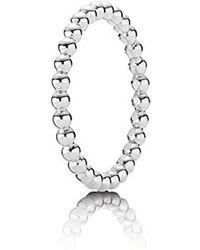 PANDORA - 190615-55 Silver Ring - Lyst