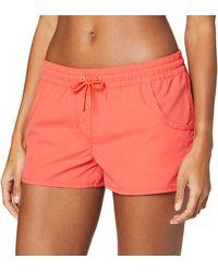 Esprit Bodywear Havana Beach Acc Woven Short - Orange