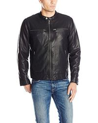 Lucky Brand - Adison Faux Leather Moto Jacket - Lyst