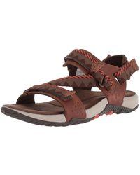 Merrell Terrant Convert Open Toe Sandals - Brown