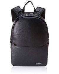 Calvin Klein Sliver Mix Single Round Backpack Schultertasche, 0.1x0.1x0.1 Centimeters - Schwarz