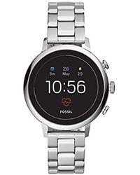 Fossil Gen 4 Donna Smartwatch Venture HR Argento Acciaio Inossidabile - FTW6017 - Metallizzato