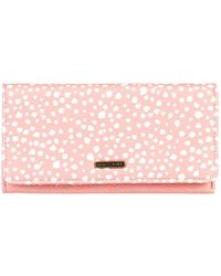 Roxy Portefeuille trois volets - - ONE SIZE - Rose