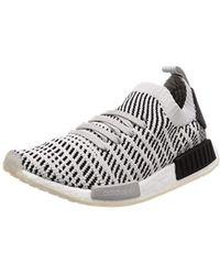 d5e5f47e273dd Adidas Originals Nmd R1 Stlt Primeknit Sneakers in Gray for Men - Lyst