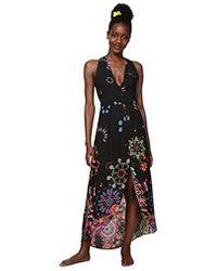 e77a31537a805e Dress Swimwear Magda Woman Black Robe Femme - Noir