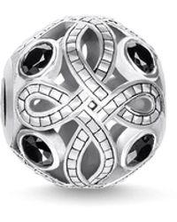 Thomas Sabo Collana con diamante bianco da Donna Argento sterling 925 - Rosso