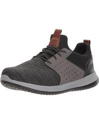 Skechers Mens Go Walk Max-athletic Air Mesh Slip On Walking Shoe,black,7 Eee Us - Multicolour