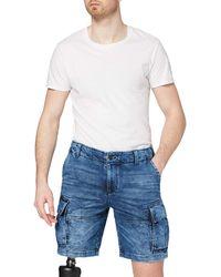 Desigual Denim_daniel Shorts - Blue