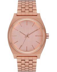 Nixon Analogue Quartz Watch With Stainless Steel Strap A045-897-00 - Metallic