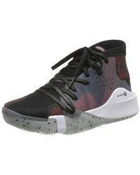 Under Armour Spawn Mid, Chaussures de Basketball - Noir