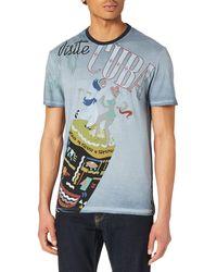 Desigual TS_CEFERINO T-Shirt - Bleu