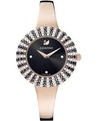 Swarovski Reloj Crystal Rose - Negro