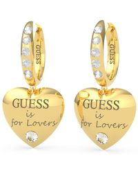 Guess PENDENTS JEWELLERY IS FOR LOVERS UBE70111 - Métallisé