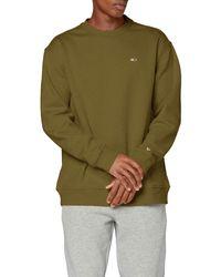 Tommy Hilfiger Tjm Tommy Classics Crew Sweatshirt - Green