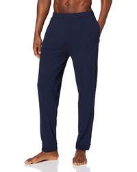 Tommy Hilfiger Tailored Jersey Pant Bas Thermique - Bleu