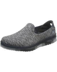 Skechers - Go Flex - Stride, Women's Walking Shoe, Charcoal, 5.5 Uk (8.5 Us) (38.5 Eu) - Lyst