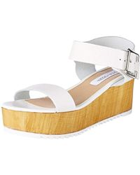 Steve Madden - 's Nylee Block Wedge Shoes - Lyst