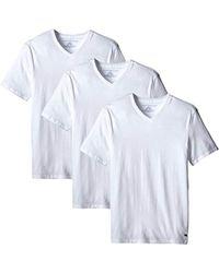 Tommy Hilfiger - Undershirts 3 Pack Cotton Classics V-neck T-shirt - Lyst
