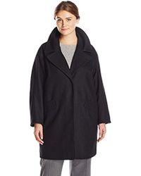 Marc New York - Plus-size Wendy Wool-blend Coat - Lyst