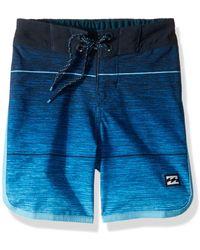 Billabong Boys Sundays X Boardshorts Blue 24