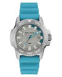 Nautica Horloge NAI12531G - Métallisé
