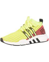 adidas EQT Support Mid ADV PK, Chaussures de Fitness - Jaune