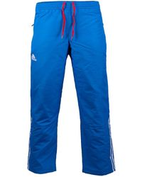adidas - Performance Climaproof Universal Pants 2 Layer Trouser Track Bottom W38-40 Blue - Lyst