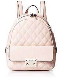 Guess Tiggy Bowery Backpack Rucksack, Rosa - Pink