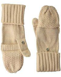 CALVIN KLEIN 205W39NYC - Lurex Texture Flip Top Glove - Lyst